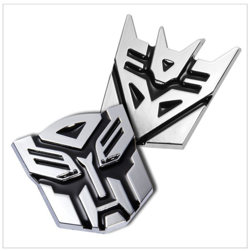 Transformers metal sticker için geely X7 GC6 CK2 EC7 FC GX7 SC7 Araba-Styling sticker Aksesuarları
